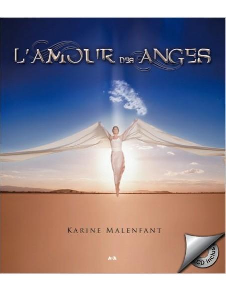 L'amour des anges - livre + CD