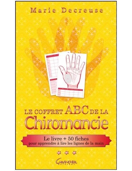 Le coffret ABC de la Chiromancie - Le livre + 50 fiches pour apprendre à lire les lignes de la main