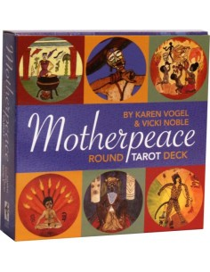 The Motherpeace Round Tarot Deck - Karen Vogel - Vicki Noble