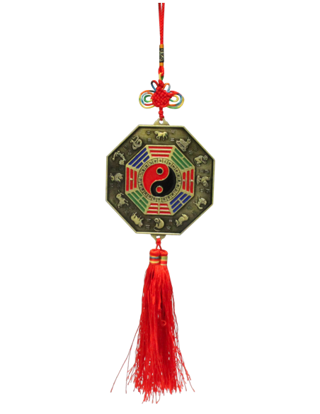 Pendentif Protection Chi Lin / Yin - Yang - Grand Modèle