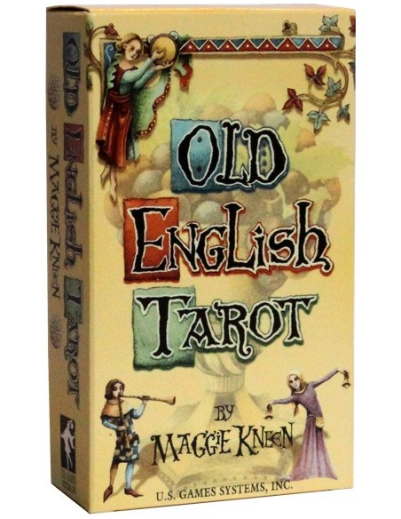 Old English Tarot - Maggie Kneen