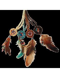 Collier Dreamcatcher avec perles