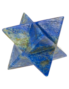 Etoile Merkaba Lapis Lazuli 4 cm