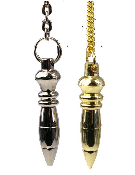 Pendule Nil doré ou nickelé
