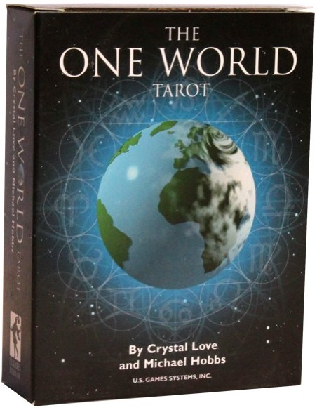 The One World Tarot - Love Crystal & Michaël Hobbes