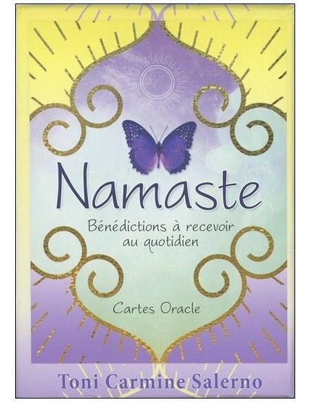 Namaste - Bénédictions à recevoir au quotidien - Cartes Oracle