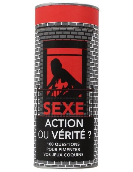 Sexe action ou vérité [Jeu]