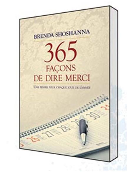 365 façons de dire merci - Brenda Shoshanna