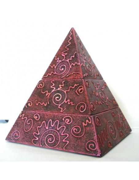 Boîte Pyramide avec 2 compartiments