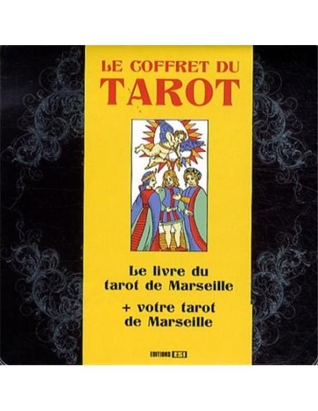 Le coffret du tarot : Le livre du tarot de Marseille + votre tarot de Marseille - Sidonie Gaucher