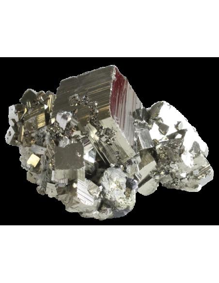 Pyrite Gros Cristaux Qualité Super Extra