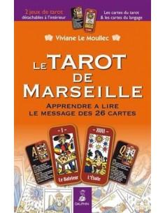 TAROT DE MARSEILLE NED - Viviane Le Moullec