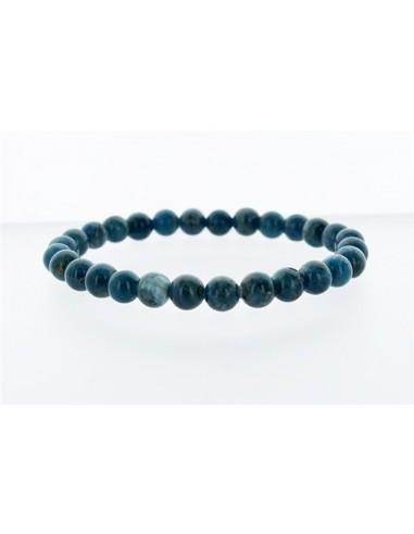 Bracelet Apatite Perles Rondes - (6 à 8 mm)