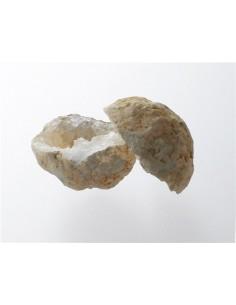 Mini Géode de Calcite blanche