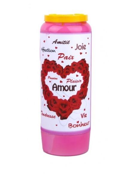 Neuvaine rose au parfum de roses Saint Valentin