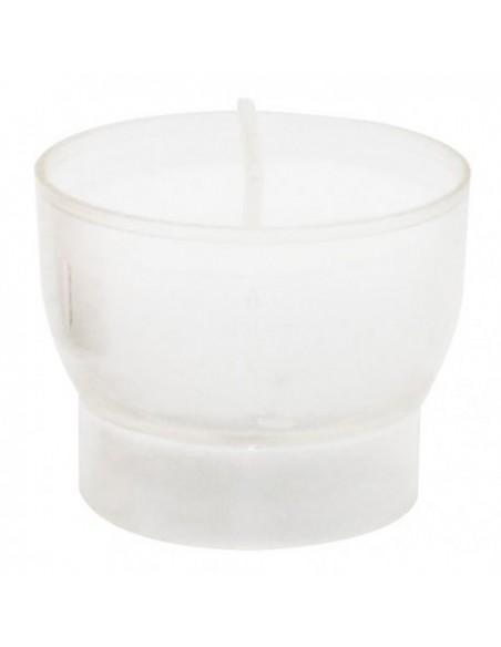 Veilleuse votive blanche - 4-5 heures