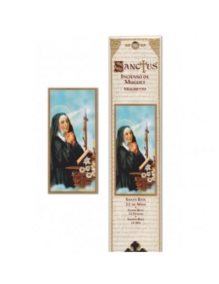 Pochette encens Sainte Rita - 15 bâtonnets