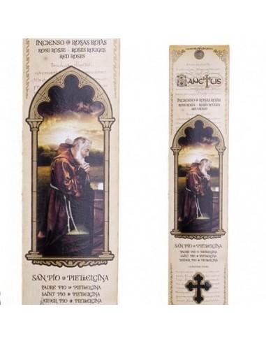 Pochette encens de Padre Pio - 15 bâtonnets