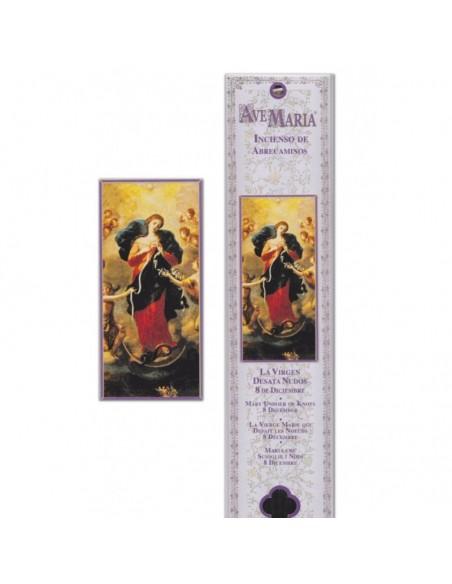 Pochette encens Marie qui défait les Noeuds - 15 bâtonnets