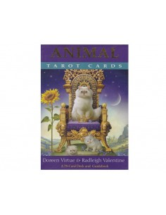 Animal Tarot Cards: A 78-Card Deck and Guidebook [Anglais] - Doreen Virtue & Radleigh Valentine