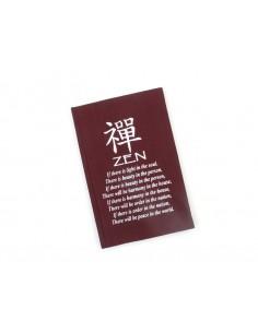 Cahier d'Affirmation Zen