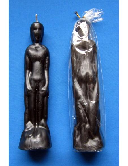 Bougie figurative Corps d'homme Noir