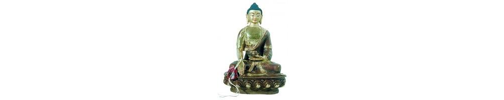 Statues Népal