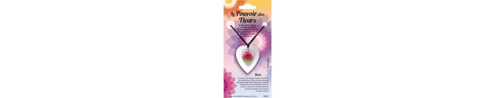 Pendentifs et Bracelets des Pouvoir des Fleurs.