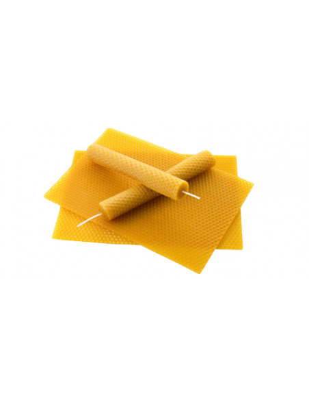 Bougies Cire d'abeille