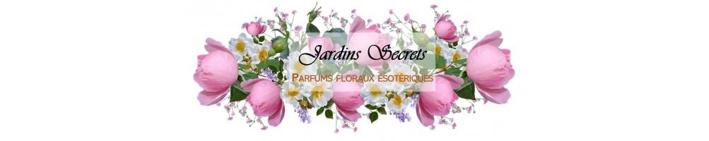 Jardins Secrets, une gamme de parfums floraux ésotériques de fabrication française.